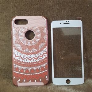 Accessories - iPhone 7/8 Plus Case & Screen Protector